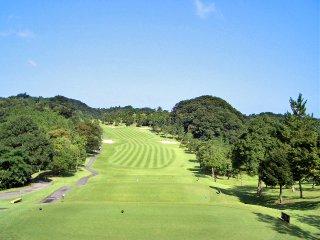 千葉夷隅ゴルフクラブにて撮影