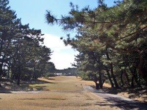 大洗ゴルフ倶楽部にて撮影