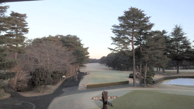 20110123 江戸崎カントリー倶楽部