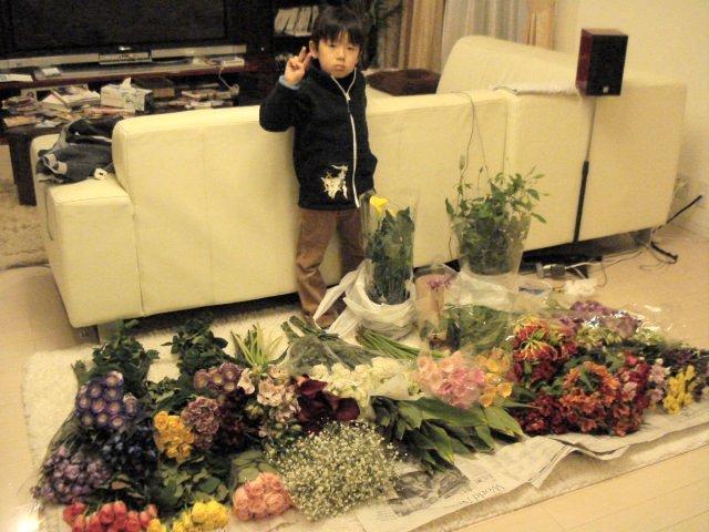 花屋のオッチャン