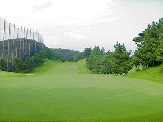 よみうりゴルフ倶楽部にて撮影