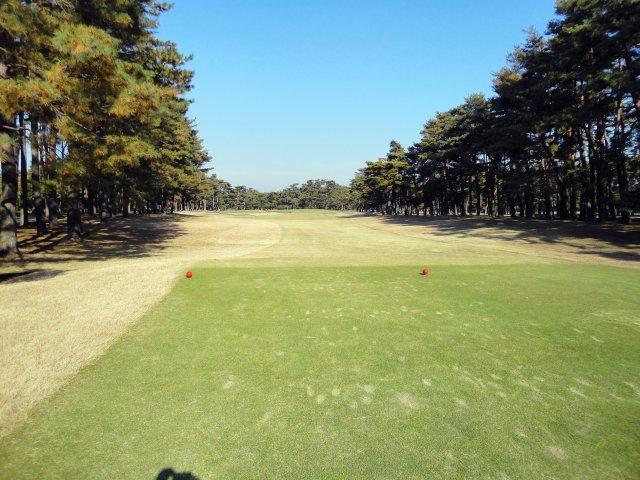 茨城ゴルフ倶楽部にて撮影